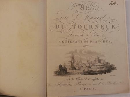 Atlas Manuel Du Tourneur