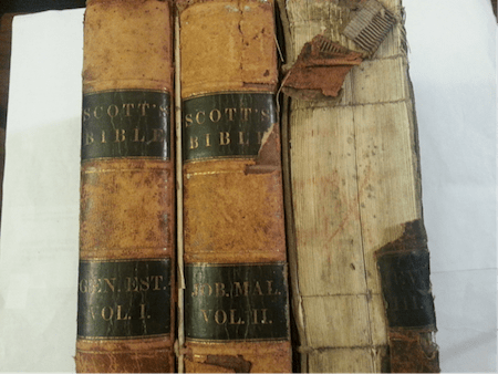 Scott Bibles - Volumes I and II